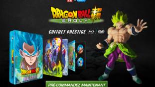 Dragon Ball Super – Broly : Coffret prestige, pré-commandes ouvertes