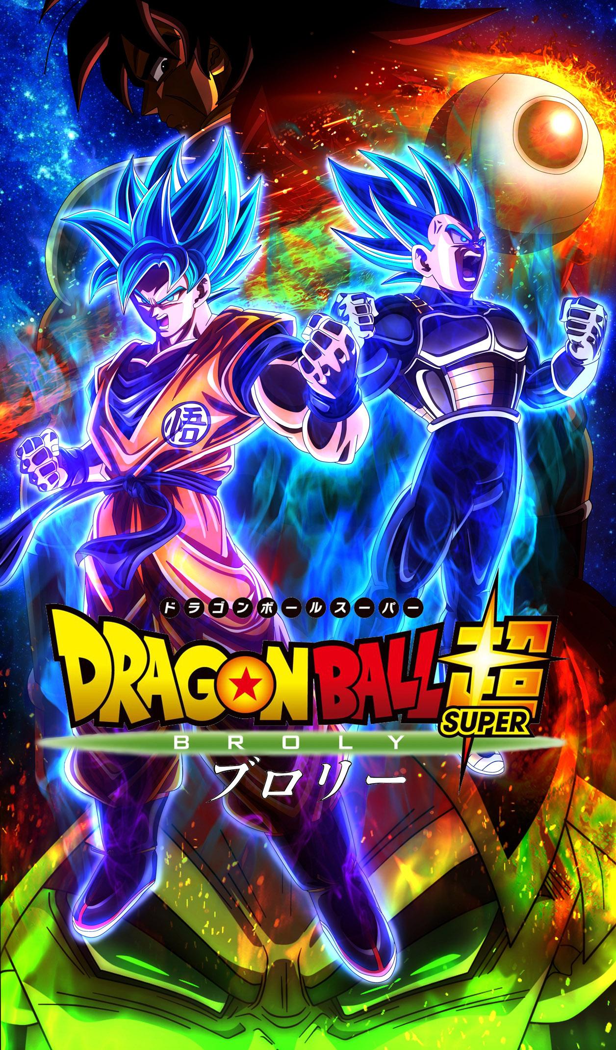 """Résultat de recherche d'images pour """"Dragon Ball Z Broly affiche"""""""