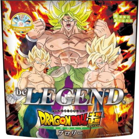Dragon Ball Super – Broly x Be Legend : Des protéines whey de Super Saiyan !