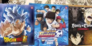Dragon Ball Super, The Promised Neverland, Black Clover, Captain Tsubasa : Les calendriers 2020 sont disponibles