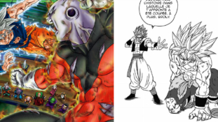 Dragon Ball Super manga : Les illustrations, ajouts et corrections du tome 9
