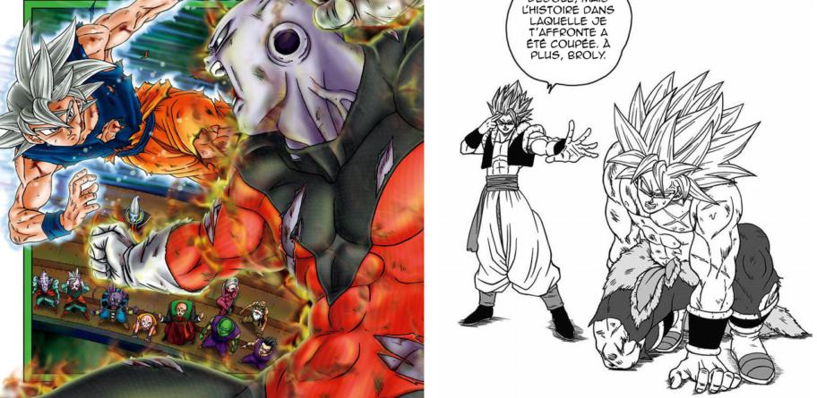 Dragon Ball Super manga : Les illustrations, ajouts et corrections du tome 9