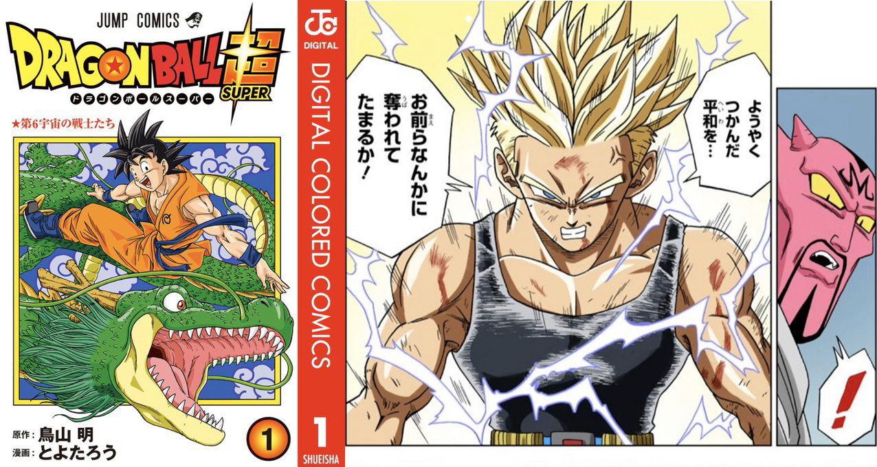 Dragon Ball Super Les Tomes Tout En Couleur Full Color Du