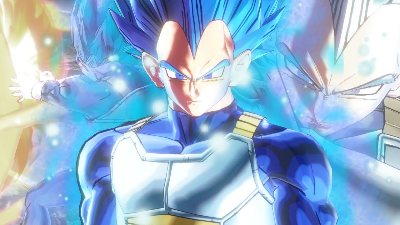Dragon Ball Xenoverse 2 Vegeta Super Saiyan Blue Evolution