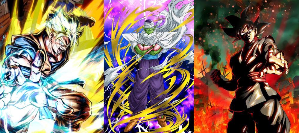 Dragon Ball Z Dokkan Battle – Dragon Ball Legends : Nouveaux Piccolo (Fusion Dieu), Cell LR et Gohan (du futur), Gokû Black