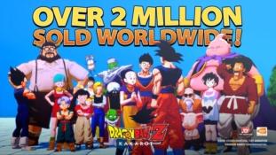 Dragon Ball Z – Kakarot a atteint les 2 millions d'exemplaires vendus dans le monde