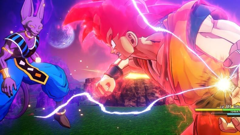Dragon Ball Z – Kakarot : Teaser et Gameplay du DLC «Battle of Gods» qui sort ce printemps