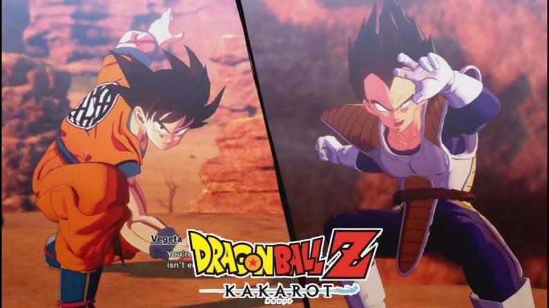 Dragon Ball Z : Kakarot – Le combat de Gokû contre Vegeta comme si vous regardiez l'anime