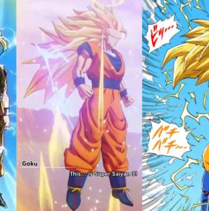 Dragon Ball Z – Kakarot : Gokû se transforme en Super Saiyan 3 et ça ne dure pas tout un épisode