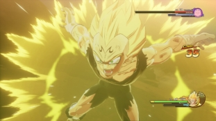Dragon Ball Z – Kakarot : Gameplay Majin Vegeta contre Majin Boo