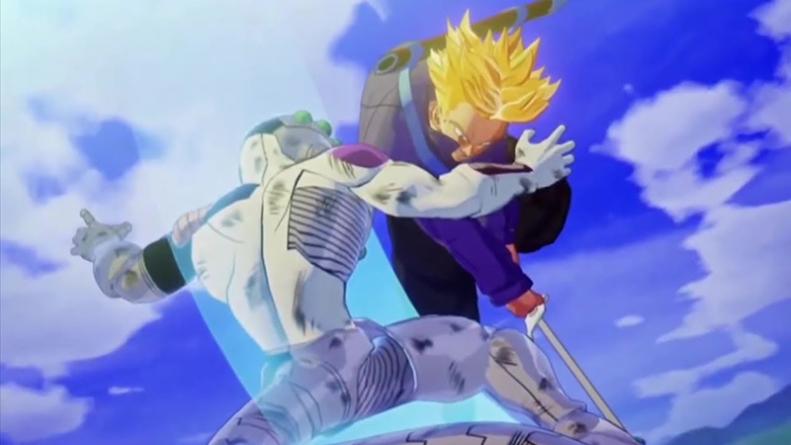 Dragon Ball Z – Kakarot : Trunks du Futur contre Mecha Freezer