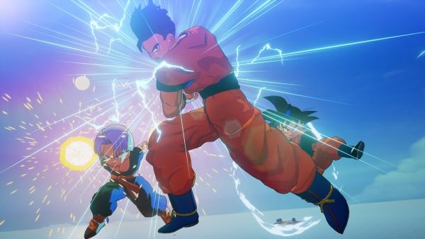 Dragon Ball Z – Kakarot : La configuration pour ceux qui le veulent sur PC, des images des personnages de Trunks, Goten et C-18