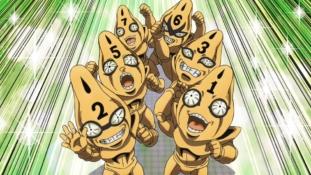 JoJo's Bizarre Adventure – Golden Wind épisode 8: « Les Six Bullets entrent en scène (2e partie) »