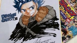 Hiro Mashima (Fairy Tail, Edens Zero) va réaliser le manga one-shot de Dragon Quest XI