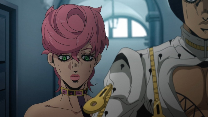 JoJo's Bizarre Adventure – Golden Wind épisode 20 : « Les ultimes instructions du Boss »