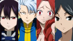 Fairy Tail : Ultia, Leon, Flare et Minerva accueillis dans le jeu mais pas trop