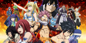 Fairy Tail – Saison Finale : Nouvelle affiche et vidéo de collaboration avec Mameshiba