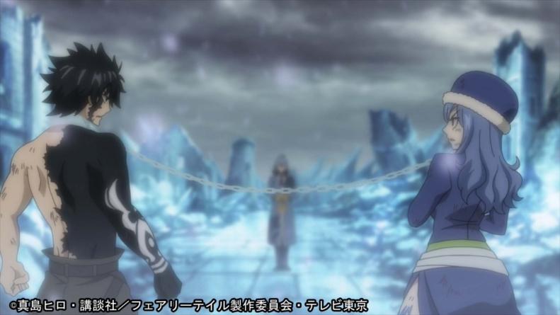 Fairy Tail épisode 307 : « Grey et Jubia »