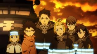 Fire Force épisode 4 – Saison 1 : Le Héros et la Princesse