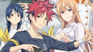 Food Wars! Shokugeki no Sōma Fourth Service : Nouvelle affiche de l'anime qui débute en octobre