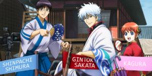 Gintama : Le nouveau film d'animation sortira en 2021