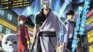Gintama: Premier visuel de la nouvelle saison et annonce des opening et ending
