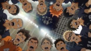 Haikyû!! (To The Top) épisode 10 – Saison 4 : « En première ligne »