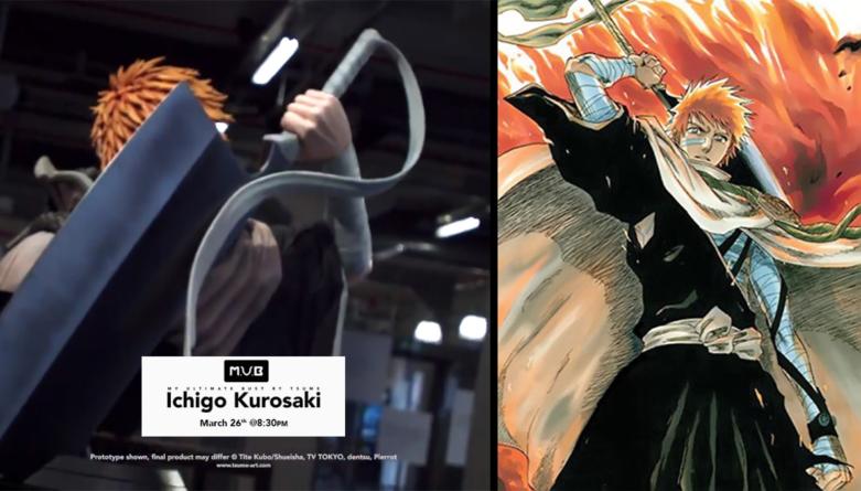 Bleach : Le buste Ichigo Kurosaki annoncé par Tsume