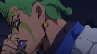 JoJo's Bizarre Adventure – Golden Wind épisode 30 : « Green Tea & Sanctuary 1ère partie»