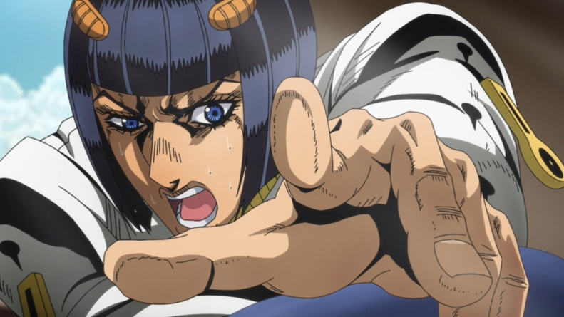JoJo's Bizarre Adventure – Golden Wind épisode 24 : « Notorious Chase »