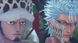 Jump Force : Trafalgar D. Water Law (One Piece) et Grimmjow Jaggerjack (Bleach) sortent demain