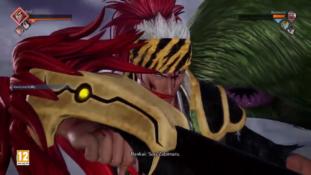 Jump Force : Renji (Bleach) utilise son Bankai Sôô Zabimaru sur Barbe Noire (One Piece)