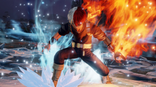 Jump Force : Nouvelles images et date de sortie de Shoto Todoroki (My Hero Academia)