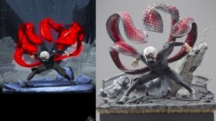 Kura Collectibles : La statuette haut de gamme de Ken Kaneki (Tokyo Ghoul)