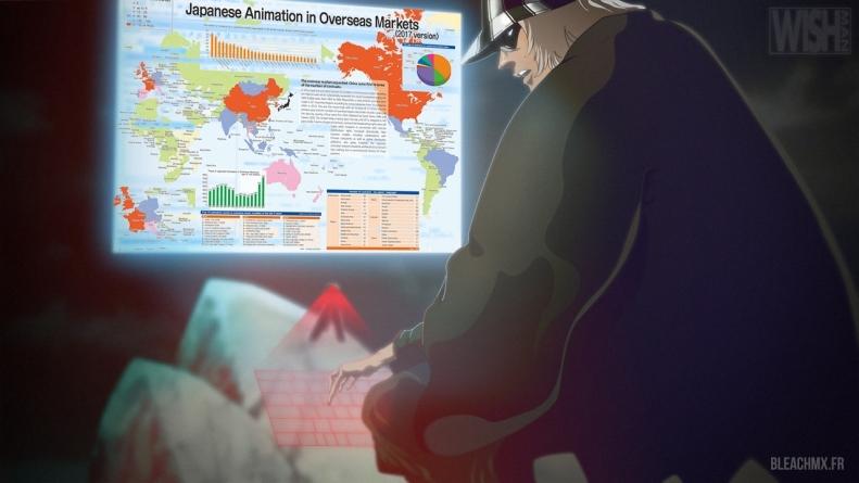 L'industrie de l'animation poursuit son essor exceptionnel dans le monde en 2016. Bleach 2e anime le plus rentable pour le marché en 2014 (2015)