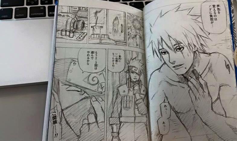 Naruto: Le Visage de Kakashi a été révélé