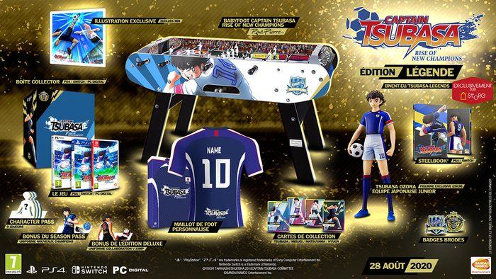 Captain Tsubasa: Rise of New Champions : Enfin la date de sortie et les différentes éditions collectors