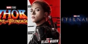 Marvel Cinematic Universe Phase 4 : Nouvelles dates de sorties pour les films Black Widow, Les Éternels, Spider-Man 3, Thor 4