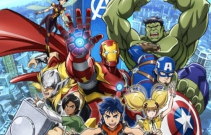 Marvel révèle l'anime Marvel Future Avengers et un projet de manga