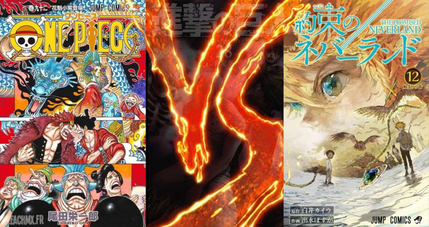 One Piece reste le manga le plus vendu pour le 1er semestre 2019