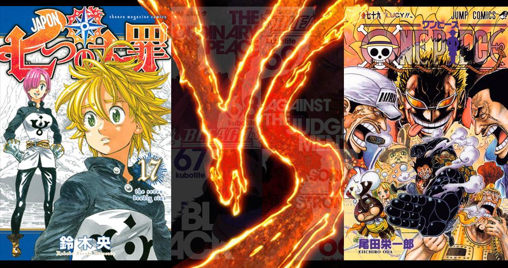 Meilleures Ventes de Manga 2015 Japon