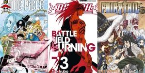 Meilleures ventes de Manga en France: Mai 2017