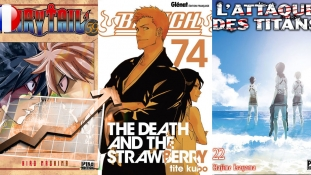 Meilleures ventes de Manga en France: Septembre 2017