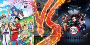 One Piece Vs. Demon Slayer (Kimetsu no Yaiba) : Quel est l'anime préféré des japonais ?