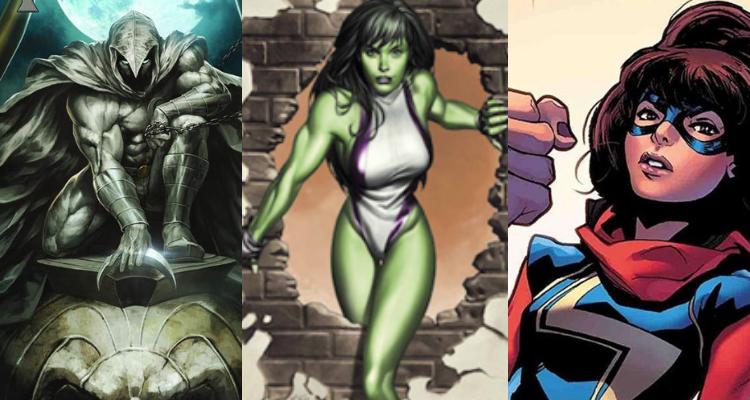 Disney + : Les séries Ms. Marvel, Moon Knight et She-Hulk annoncées en exclusivité