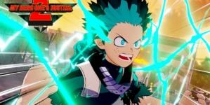 My Hero One's Justice 2 : Deuxième character trailer avec One For All : Revêtement Intégral, Puissance à 100%