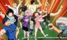 My Hero Academia – Saison 4 : Une vidéo et une affiche pour le Festival culturel de Yuei