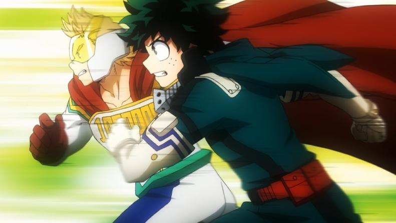 My Hero Academia épisode 7 – Saison 4 : « GO! »