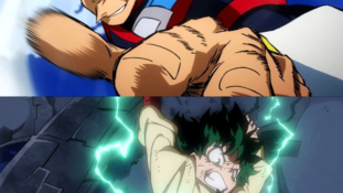 My Hero Academia: Two Heroes: Preview d'animation de scènes d'action