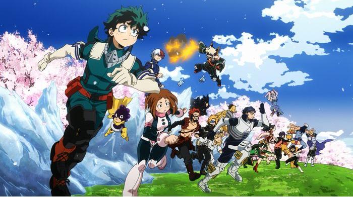 My Hero Academia épisode 1 – Saison 4 : « Le scoop de la second A de Yuei »